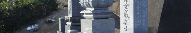 クリーニング後のお墓